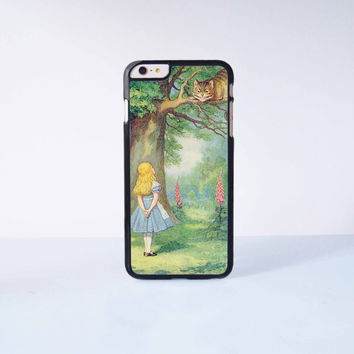 Alice In Wonderland Plastic Case Cover for Apple iPhone 6 Plus 4 4s 5 5s 5c 6