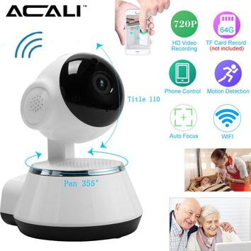 ACALI IP Camera Wireless Network Security Night Vision CCTV Camera Baby Monitor