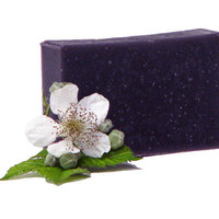 Soap Bars Vegan Blackberry Sage Fruity by mountaingirlsoap