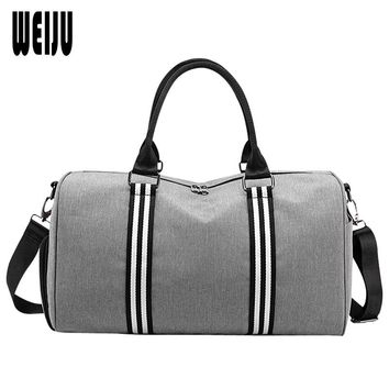 WEIJU Portable Travel Bags Female Large Capacity Luggage Handbags Waterproof Men Traveling Bag Women Shoulder Bags
