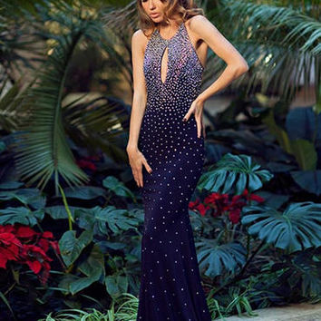 Jovani Prom 90640 Jovani Prom Bedazzled Bridal and Formal | Bridal Gowns, Bridal Party, Prom Dresses, Party Wear, Men's Formals