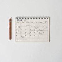 2014 Notebook Calendar Small