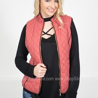 Puffy Bomber Vest | Colors