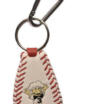 MLB Milwaukee Brewers Sausage Guy 3 Baseball Keychain
