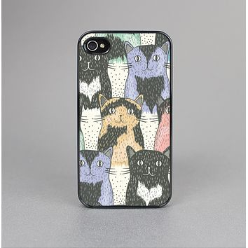 The Vintage Cat portrait Skin-Sert for the Apple iPhone 4-4s Skin-Sert Case