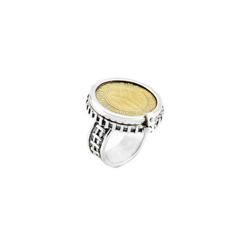 NYC Authentic Token Sterling Silver Keepsake Ring