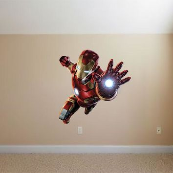 Iron Man Figure Wall Decals