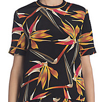 Fendi - Cadi Printed Silk Top - Saks Fifth Avenue Mobile