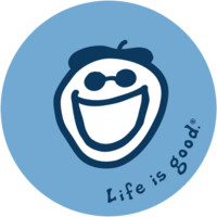 Jake Circle Sticker| Positive Stickers | Life is good