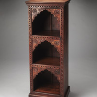 Artifacts Mihrab Solid Wood Bookcase