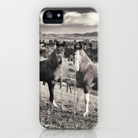 Horses in the Alhambra Palace iPhone & iPod Case by Guido Montañés