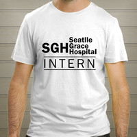 Greys Anatomy Intern Shirt, Seattle Grace