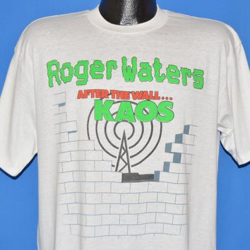 80s Roger Waters Radio K.A.O.S t-shirt Extra Large