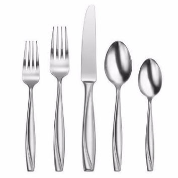 Oneida Camlynn Mirror 20 Piece Casual Flatware Set, Service for 4