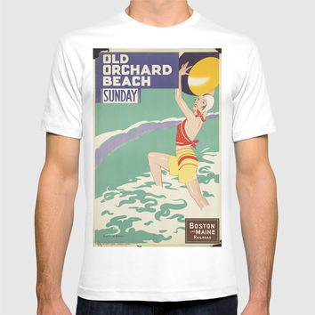 BEACH T-shirt by Kathead Tarot/David Rivera