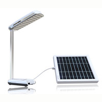 Lighting Zzar Portable Solar LED Camping desk Lamp