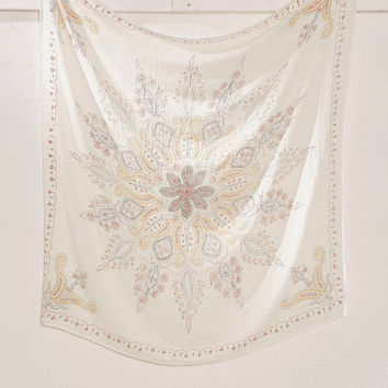 Plum & Bow Folky Fine Lines Tapestry | Urban Outfitters