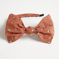 Pink Bow Headband | World Market