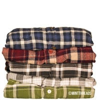 Mystery Oversized Flannel Shirt
