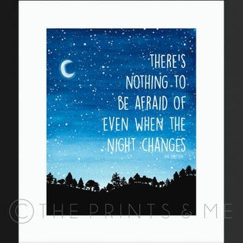 Night Changes | One Direction | 1D Lyrics | NIGHT CHANGES Lyrics | DIGITAL Print