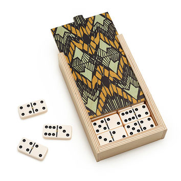 Deco Dominoes Set | games for travel