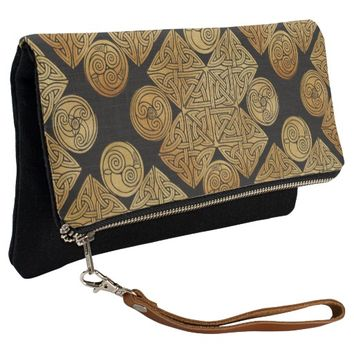 Celtic Knotwork Cross Clutch