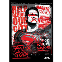Superman False God Batman V Superman MightyPrint