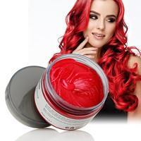 Color Styling Molding Pomade temp Hair Dye -7 Colors-