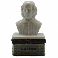 Jewelry Boxes Bust of Shakespeare