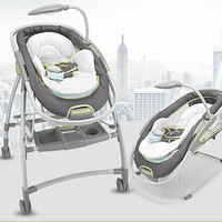 2 in 1 Super multifunctional baby bouncer music moving baby cradle & high views stroller baby rocking chair crib with MP3