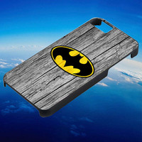Batman Wood for iPhone, iPod, Samsung Galaxy, HTC One, Nexus ***