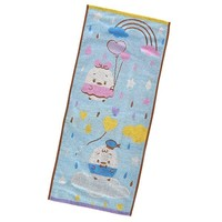 Donald & Daisy Face Towel ufufy Heart Balloon Disney Store Japan - VeryGoods.JP