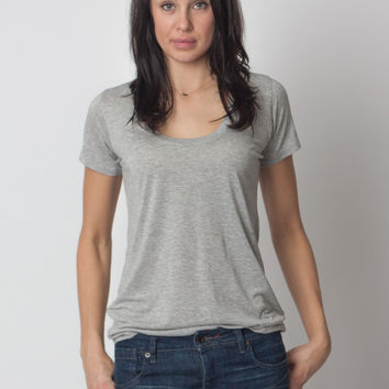 Basic Tee Heather Grey