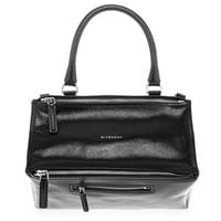 Givenchy Pandora Satchel Bag, Black, Medium