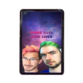 Jacksepticeye And Pewdiepie Markiplier 001  iPad Mini Case