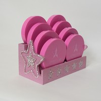 Limited Edition Star Compact Makeup Organizer - For Her Vanity