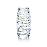 Tiffany & Co. - Wave Cut vase in crystal.