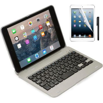 For ipad Mini2 Case Wireless Bluetooth Keyboard For iPad Mini 1 2 3 Full Body Protective Portable Keyboard Case With Stand Smart