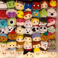Tsum Tsum Mini 9cm Plush doll Toys Screen Cleaner Marvel Inside Out Elsa Anna Olaf  juguetes doll key chain accessory best gift