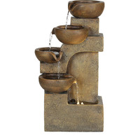 Better Homes and Gardens Contemporary Fountain With LED Light