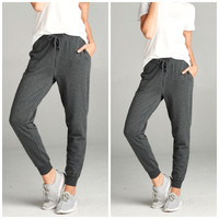 Everyday Jogger in Charcoal