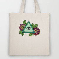 I See You △ Tote Bag by haleyivers