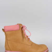 Women's Girly Lace Up Work Boot