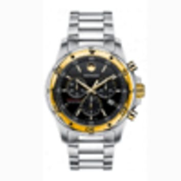 Movado Men's 'Series 800' Two-tone Chronograph Watch