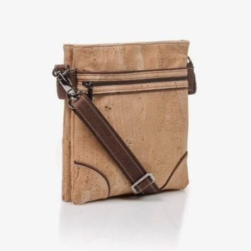 Natural Cork Crossbody Bag