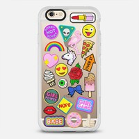 Patch Collection iPhone 6s case by Jade Boylan | Casetify