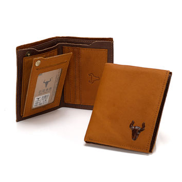 Leather Soft Unisex Design Wallet [9026280131]