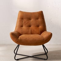 Seymour Leather Chair | Urban Outfitters