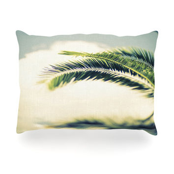 "Ann Barnes ""Summer Breeze"" Nature Photography Oblong Pillow"