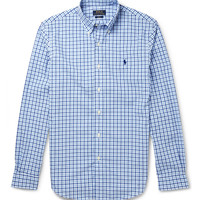 Polo Ralph Lauren - Button-Down Collar Check Cotton Shirt | MR PORTER